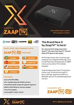 $179 ZaapTV X  2 YEARS INCLUDED with ZaaptvGO